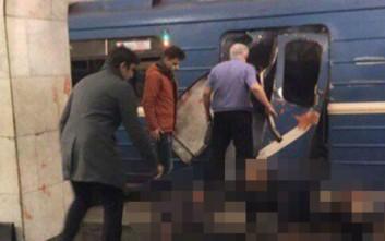 Νεκροί και δεκάδες τραυματίες από τη βομβιστική επίθεση στην Αγία Πετρούπολη