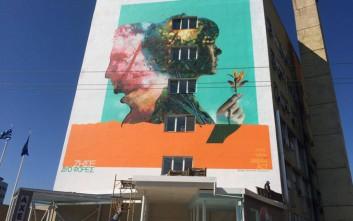 Το εντυπωσιακό γκράφιτι για τη δωρεά οργάνων στο ΑΧΕΠΑ Θεσσαλονίκης
