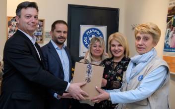 Η Pfizer Hellas στηρίζει τους «Γιατρούς του Κόσμου»