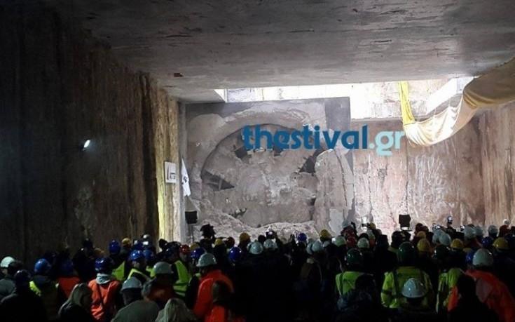 Ολοκληρώνεται σήμερα η διάνοιξη των σηράγγων του μετρό Θεσσαλονίκης