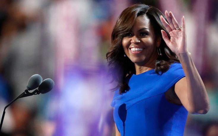Προεκλογική εκστρατεία της Μισέλ Ομπάμα για την αξία της συμμετοχής στις εκλογές