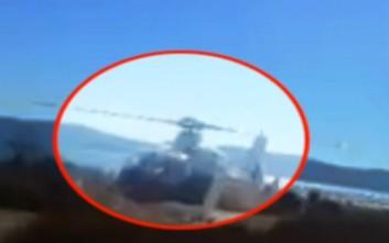 Η πρόβα απόδρασης του Μαζιώτη με το ελικόπτερο που βρισκόταν η Ρούπα