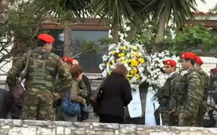 Θρήνος και οδύνη στην κηδεία του υποστράτηγου Τζανιδάκη