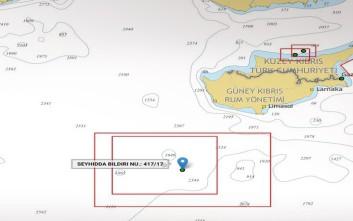 Νέα προκλητική Navtex των Τούρκων στην Κυπριακή ΑΟΖ