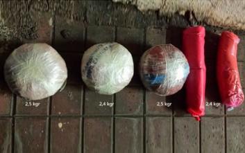 Συλλήψεις για μεγάλη ποσότητα εκρηκτικών υλών