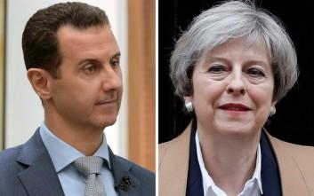 Το Λονδίνο κατηγορεί τον Άσαντ για τα χημικά στο Ιντλίμπ