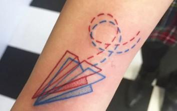 Έντεκα παιχνιδιάρικα «3D» τατουάζ