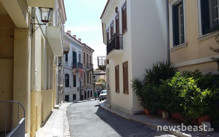 Ο δρόμος στο κέντρο της Αθήνας που υπάρχει εδώ και 25 αιώνες