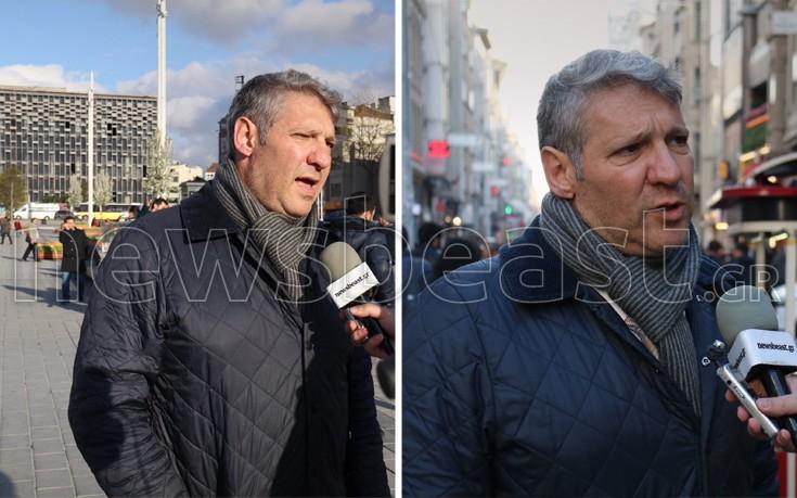 Το απρόοπτο που συνάντησε το newsbeast.gr στην πλατεία Ταξίμ