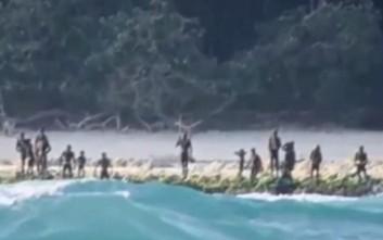 Σπάνιο βίντεο από την πιο εχθρική και πιο βίαιη φυλή του πλανήτη