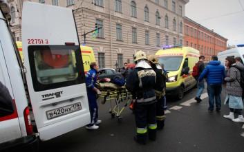 Στους 11 ο αριθμός των νεκρών από την επίθεση στο μετρό της Αγίας Πετρούπολης