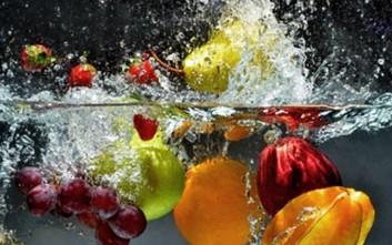 Τα τρία βασικά tips για το πλύσιμο φρούτων και λαχανικών