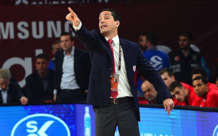 Σφαιρόπουλος: Όλοι έδωσαν το 100% και αξίζαμε τη νίκη