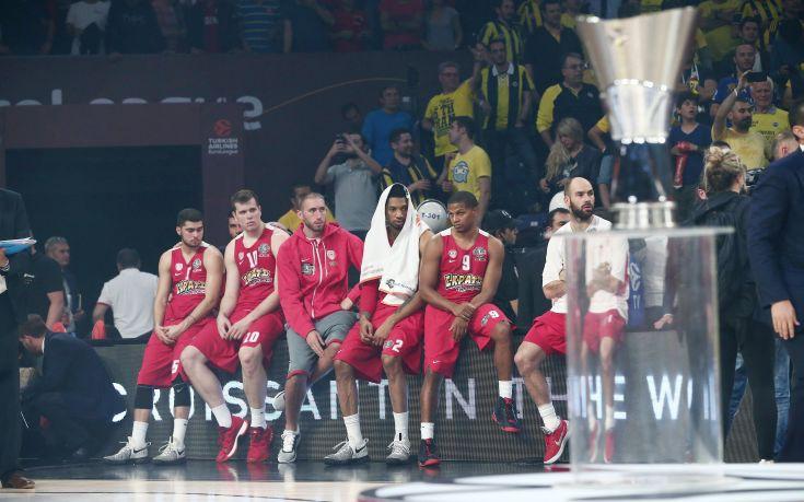 Δεύτερος σε χαμένους τελικούς Euroleague ο Ολυμπιακός!