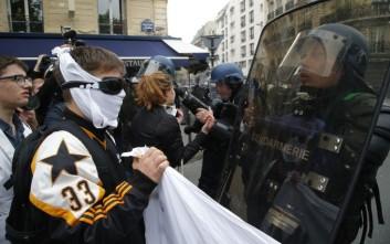 Εννέα άνθρωποι συνελήφθησαν στις διαδηλώσεις στο Παρίσι