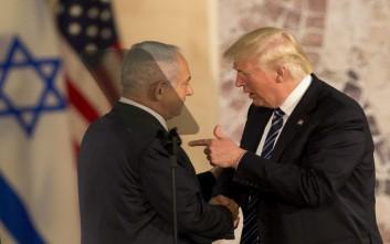 Προεκλογική εκστρατεία με… ολίγη από Τραμπ στο Ισραήλ