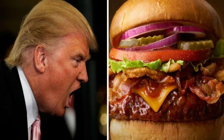 Μπιφτέκι και κέτσαπ για τον… σπιτόγατο πρόεδρο των ΗΠΑ