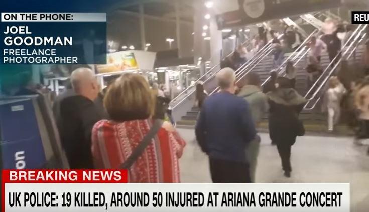 Νέo βίντεο από το μακελειό στο Μάντσεστερ με 19 νεκρούς και δεκάδες τραυματίες