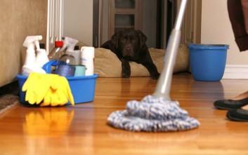Πόσες θερμίδες μπορείτε να κάψετε με τις δουλειές του σπιτιού