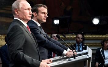Ο Μακρόν πήρε τηλέφωνο τον Πούτιν για τη Συρία
