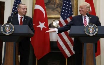 τραμπ ερντογαν