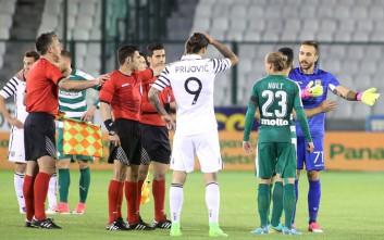Τι έλεγε ο διαιτητής του Παναθηναϊκός - ΠΑΟΚ για τη διακοπή του παιχνιδιού