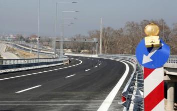 Κυκλοφοριακές ρυθμίσεις στην Αθηνών-Θεσσαλονίκης