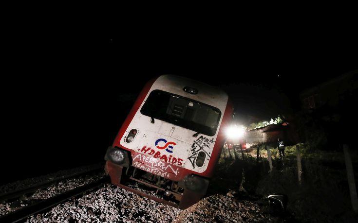 Στους δύο τελικά οι νεκροί από τον εκτροχιασμό τρένου σύμφωνα με την ΤΡΑΙΝΟΣΕ