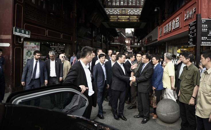 Στο Πεκίνο προσγειώθηκε ο Αλέξης Τσίπρας