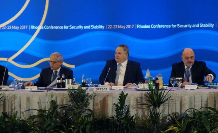 Τα θέματα που βρέθηκαν στο επίκεντρο της δεύτερης Διάσκεψης για την Ασφάλεια και τη Σταθερότητα