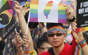 Η Ταϊβάν λέει «ναι» στο γάμο των ομοφυλόφιλων