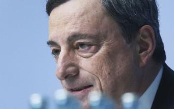 Ντράγκι: Η Ελλάδα μπορεί να μπει στο πρόγραμμα ομολόγων της ΕΚΤ αν συνεχίσει τις μεταρρυθμίσεις