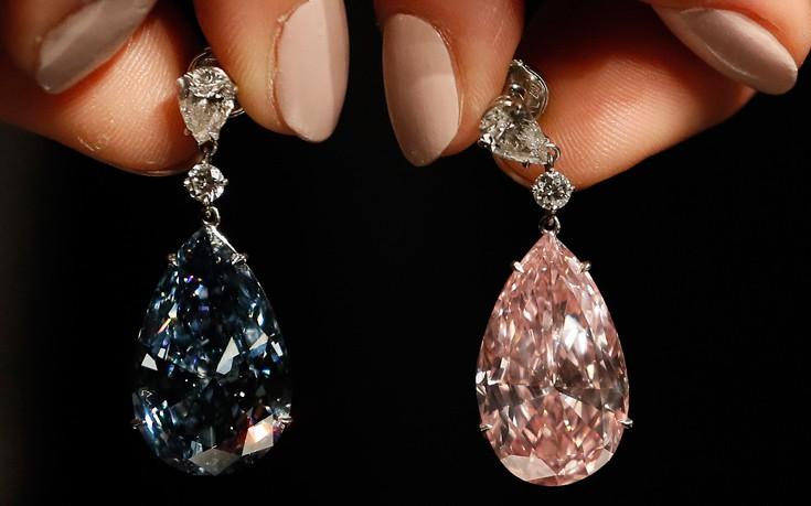 Τιμή-ρεκόρ για ένα ζευγάρι σκουλαρίκια με εντυπωσιακά διαμάντια