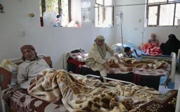 Στους 1.500 έφτασαν οι νεκροί από τη χολέρα στην Υεμένη