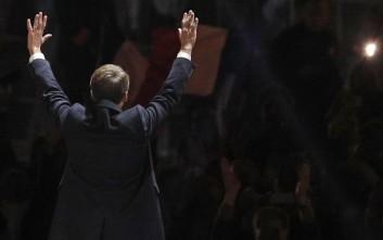 Ο Μακρόν πρόεδρος της Γαλλίας με ποσοστό πάνω από 66%