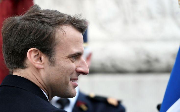 Μετά τον Πούτιν, ο Μακρόν συνάντησε τη συριακή αντιπολίτευση