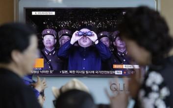 Πυραύλους μικρού βεληνεκούς εκτόξευσε η Βόρεια Κορέα