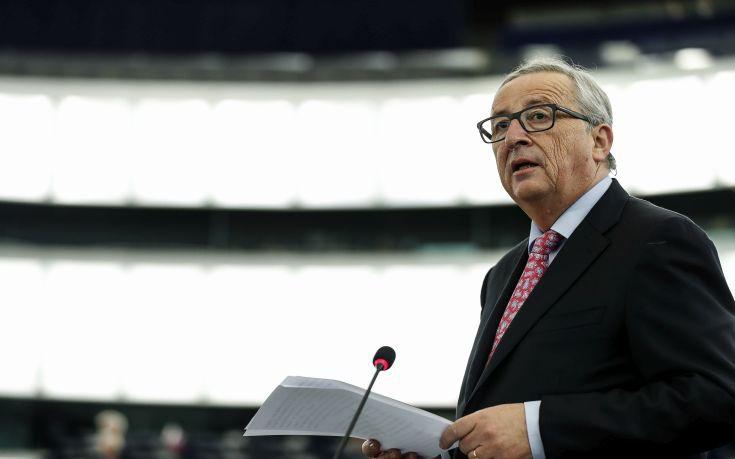 Γιούνκερ: Η Ελλάδα πρέπει να βγει από τη διαδικασία των υπερβολικών ελλειμμάτων