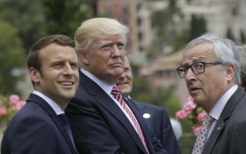 Συνάντηση Τραμπ-Γιουνκερ εν μέσω εμπορικού πολέμου