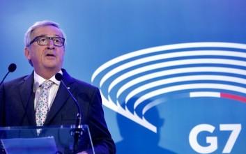 Γιούνκερ: Η Ελλάδα είναι σπουδαίο έθνος και πρέπει να δείχνουμε σεβασμό