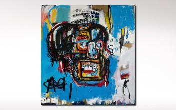 Τιμή ρεκόρ για πίνακα του Νεοϋορκέζου Ζαν-Μισέλ Μπασκιά