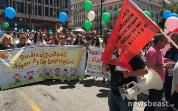 Έληξε η διαμαρτυρία της ΠΟΕ-ΟΤΑ, άνοιξαν οι δρόμοι στο κέντρο της Αθήνας
