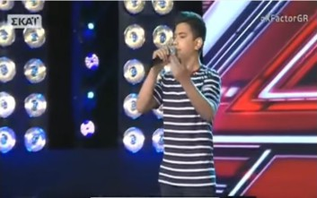 Μάγεψε ξανά το κοινό του X Factor o 16χρονος Ρομά