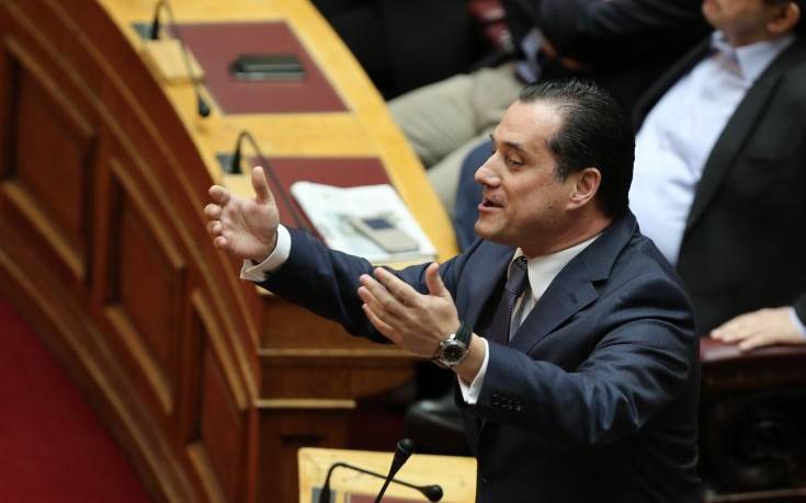 Γεωργιάδης: Εφόσον οι ΑΝΕΛ διαφωνούν, ο Τσίπρας δεν έχει πολιτική νομιμοποίηση για την συμφωνία