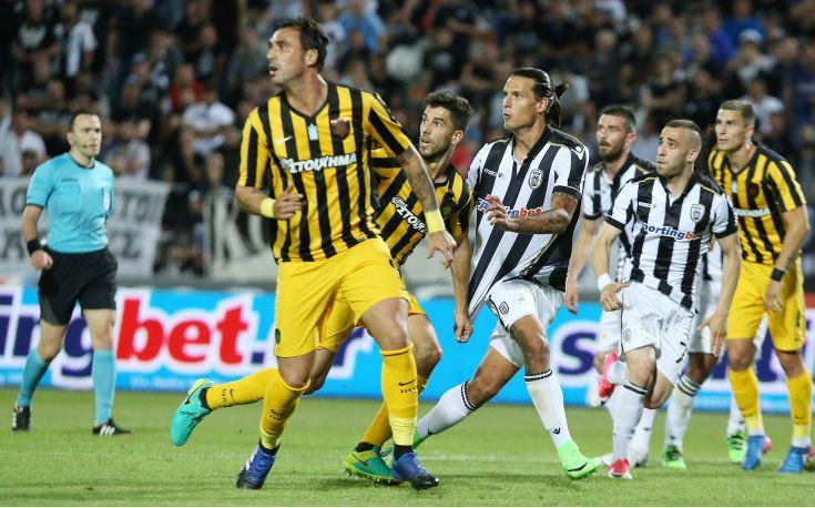 Σπουδαία νίκη της ΑΕΚ με 1-0 επί του ΠΑΟΚ