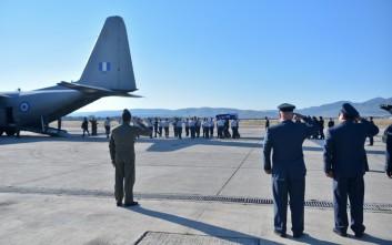 Στα Χανιά με C-130 η σορός του Κωνσταντίνου Μητσοτάκη