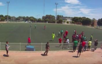 Οπαδοί στην Ισπανία τραμπούκισαν πιτσιρικά σε αγώνα για το πρωτάθλημα νέων