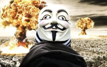 Οι Anonymous προειδοποιούν πως ο Γ' Παγκόσμιος Πόλεμος είναι προ των πυλών