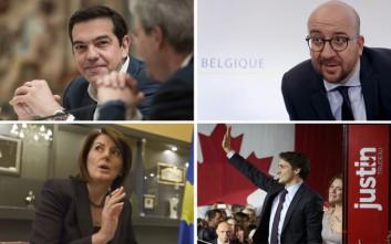 Οι νεότεροι ηγέτες του κόσμου