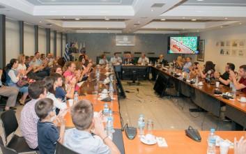 Μία διαφορετική εκδήλωση της Ελληνικής Αστυνομίας με προσκεκλημένους μικρά παιδιά